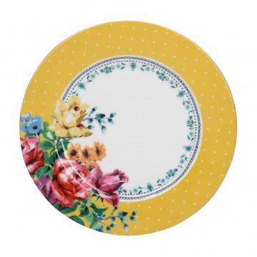 Plato de cerámica 19 cm Bohemian Spirit Mostaza Creative Tops