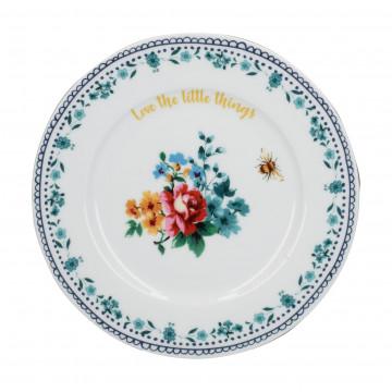 Plato de cerámica 19 cm Bohemian Spirit Floral Creative Tops