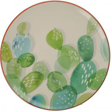 Plato de cerámica 20 cm Drift Cactus