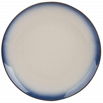 Plato de cerámica 27 cm Drift Azul