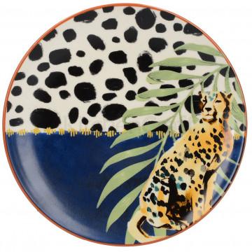 Plato de cerámica 20 cm Drift Cheetah Creative Tops