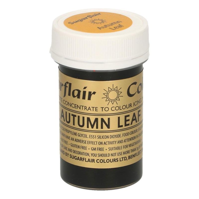 Colorante en pasta Autumn Leaf Marrón claro Sugarflair