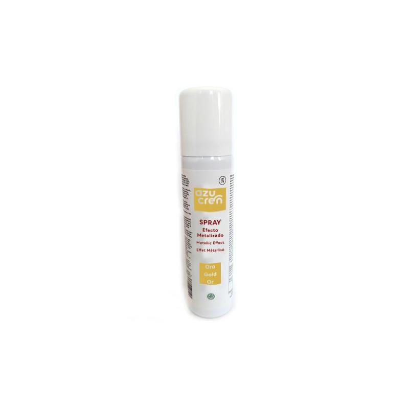Spray Oro Metalizado 75 ml Azucren