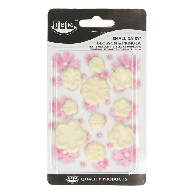 Cortante pack 10 cortantes flores: blossom, primula y lirios de los valles JEM