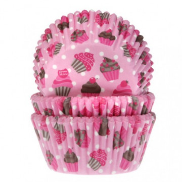 Cápsulas cupcakes Rosa Cupcakes House of Marie