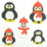 Pack de cortantes Pingüino FMM