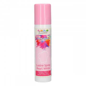Spray Blanco Perlado Metalizado 100 ml Funcakes