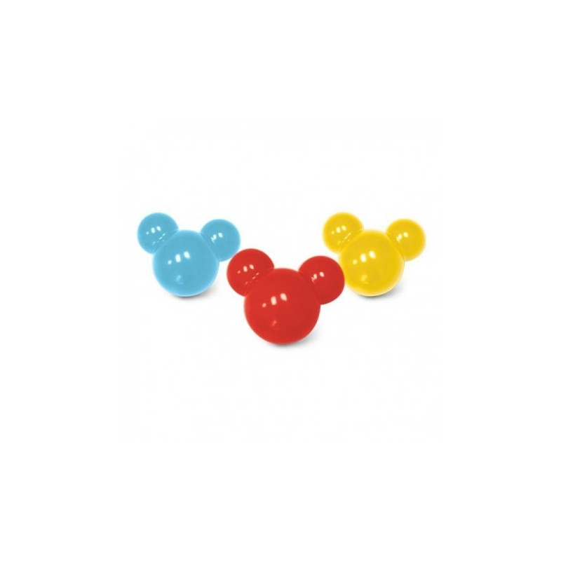 Pack de 3 moldes CakePops Mickey Mouse + Palitos