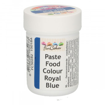 Colorante en pasta Azul Royal 30 gr Funcakes