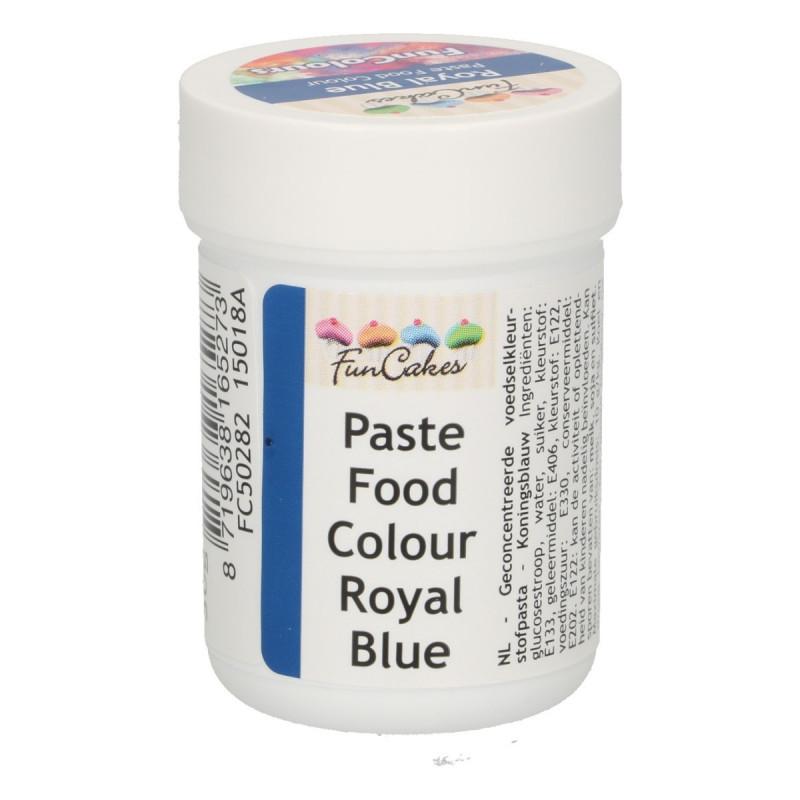 Colorante en pasta Azul Royal 30 gr Funcakes