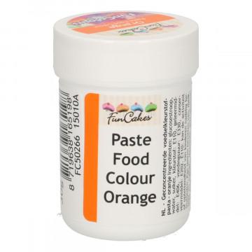 Colorante en pasta Naranja 30 gr Funcakes