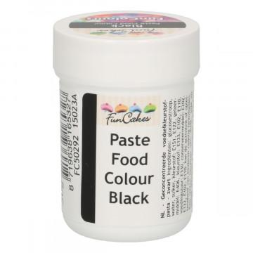 Colorante en pasta Negro 30 gr Funcakes