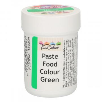 Colorante en pasta Verde 30 gr Funcakes