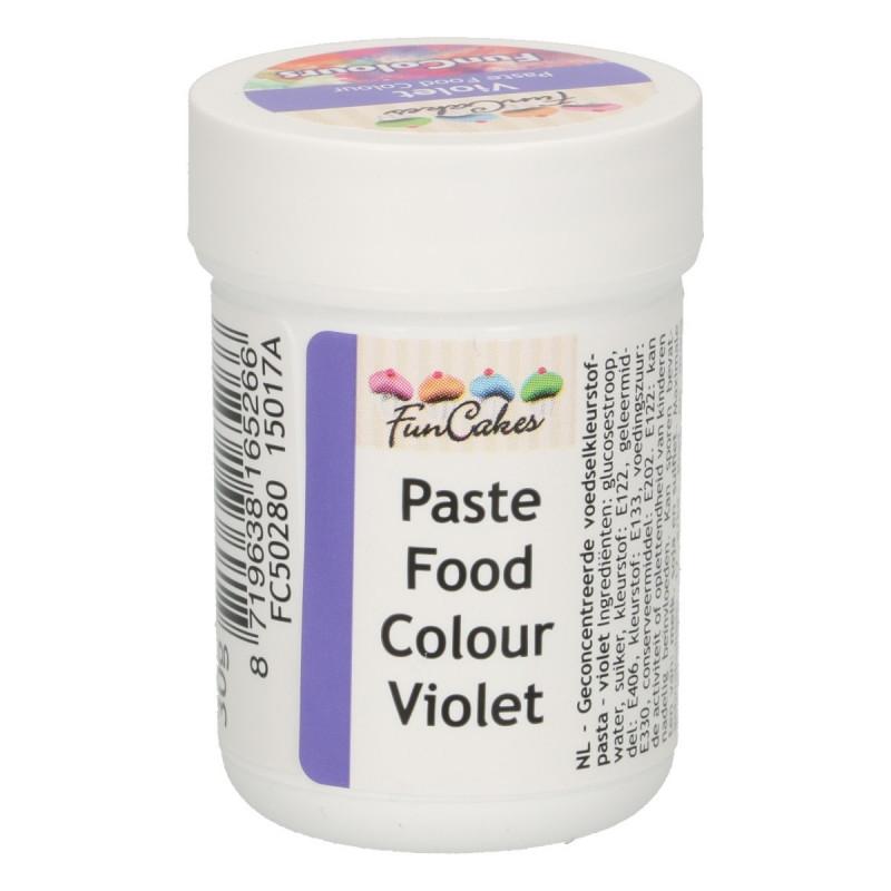 Colorante en pasta Violeta 30 gr Funcakes