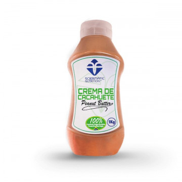 Crema de Cacahuete Scientiffic Nutrition