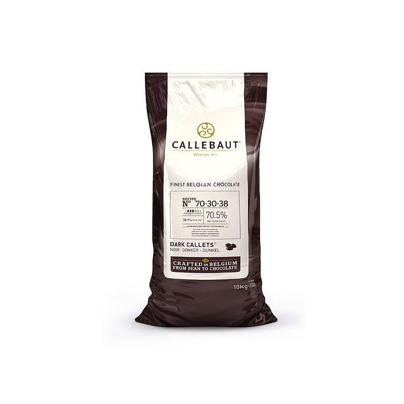 Chocolate negro 70% en grageas 10 kg Callebaut