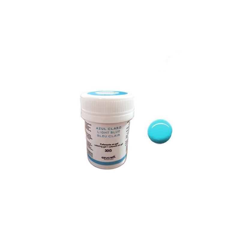 Colorante en gel Azul Claro 30 gr Azucren