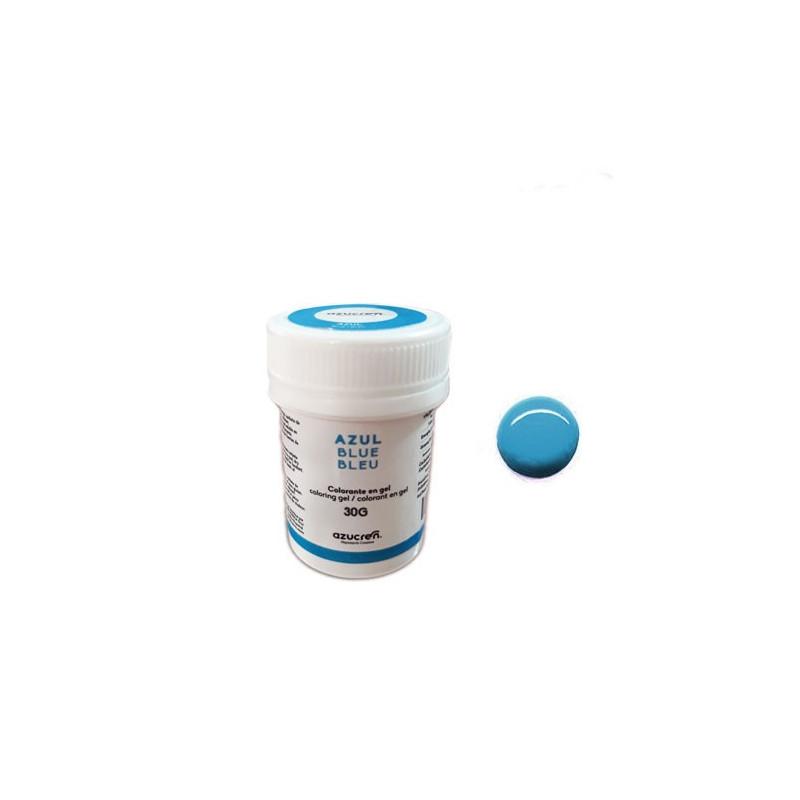 Colorante en gel Azul 30 gr Azucren