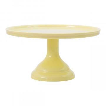 Cake Stand de melamina Amarillo 23 cm