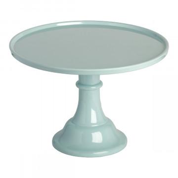 Cake Stand de Melamina Azul Vintage 30 cm