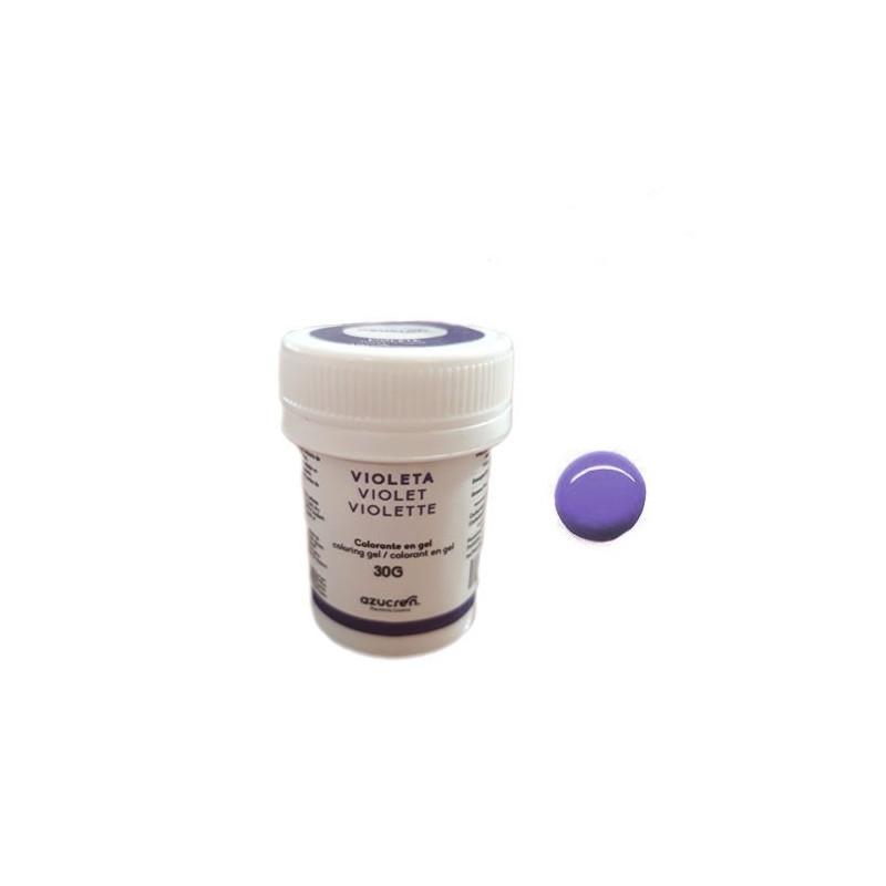 Colorante en gel Violeta 30 gr Azucren
