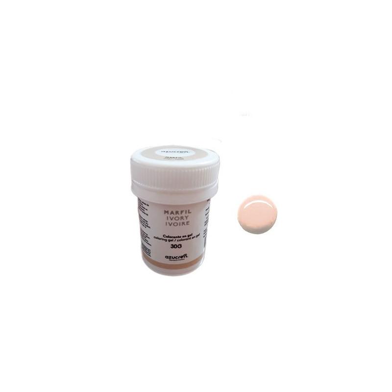 Colorante en gel Crema Ivory 30 gr Azucren