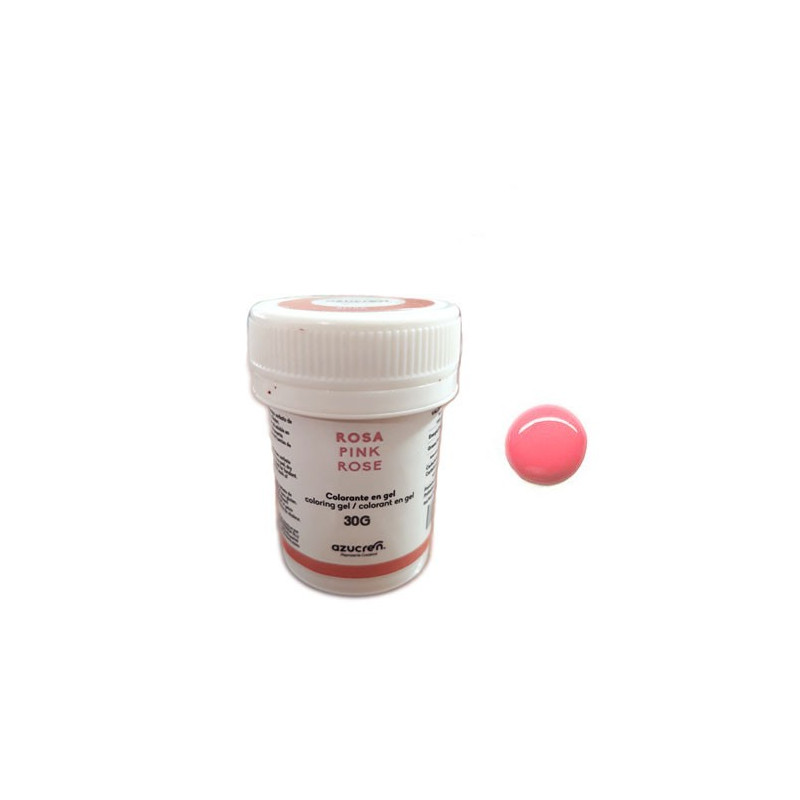 Colorante en gel Rosa 30 gr Azucren