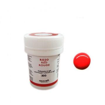 Colorante en gel Rojo 30 gr Azucren
