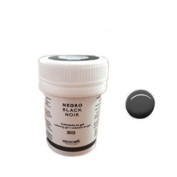 Colorante en gel Negro 30 gr Azucren