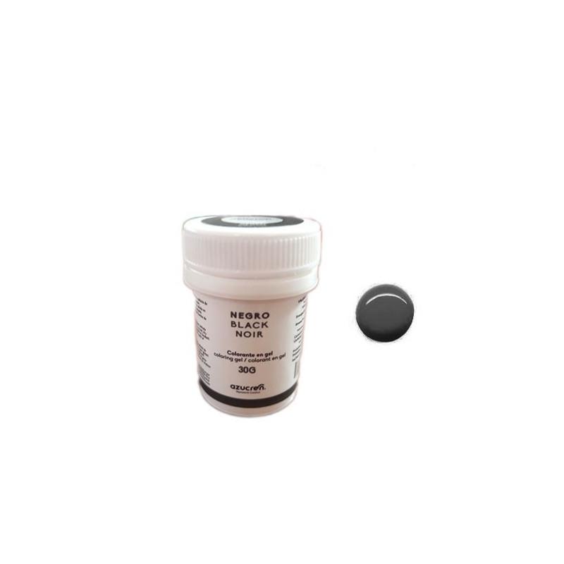 Colorante en gel Negro 30 gr Azucren