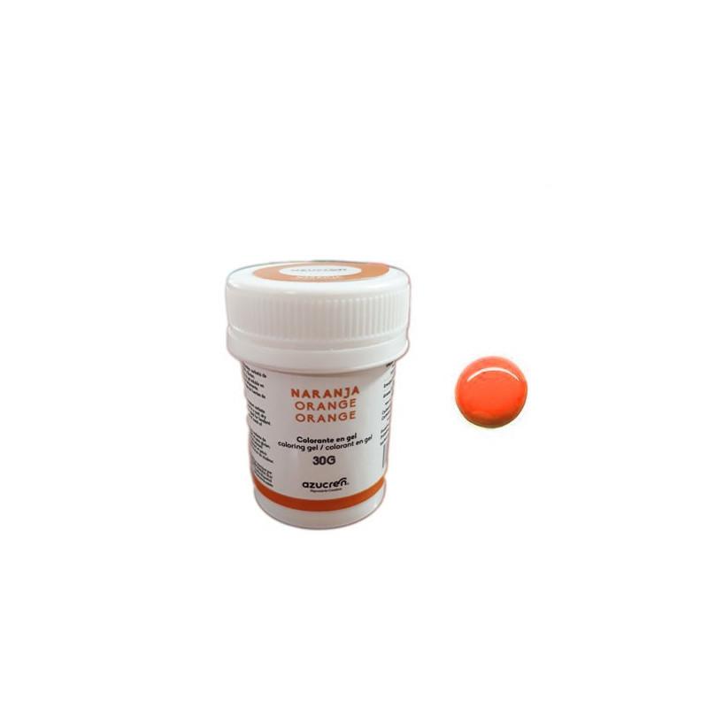 Colorante en gel Naranja 30 gr Azucren