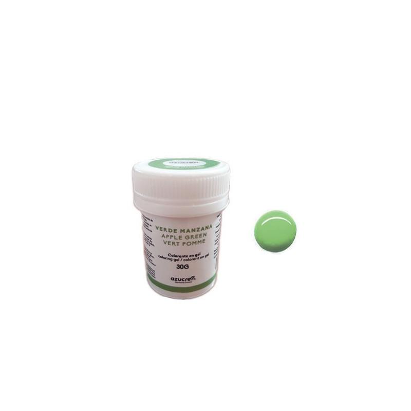 Colorante en gel Verde Manzana 30 gr Azucren