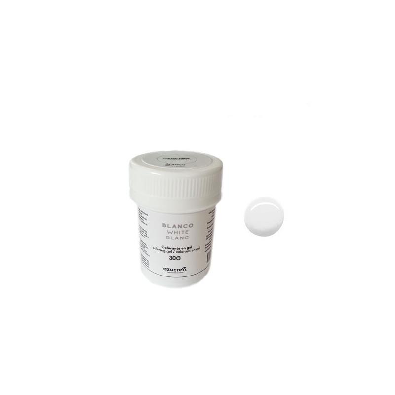 Colorante en gel Blanco 30 gr Azucren