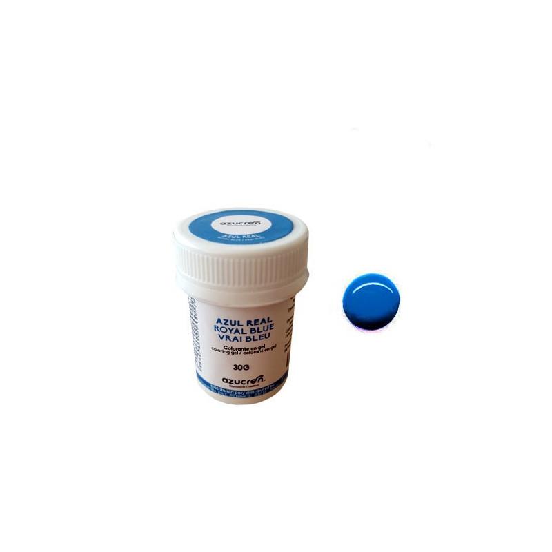 Colorante en gel Azul Real 30 gr Azucren