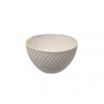 Bol de cerámica Rombos Blanco Textured Tokyo Design Studio