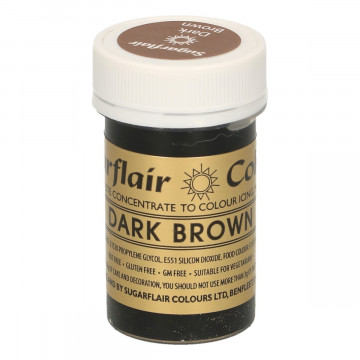 Colorante en pasta Dark Brown Sugarflair