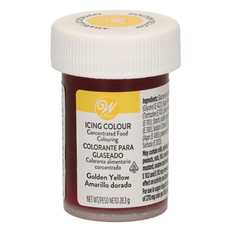 Colorante en gel Amarillo Dorado Wilton