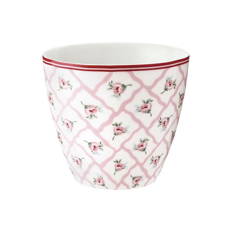 Tazón de leche Rita Pale Pink Green Gate