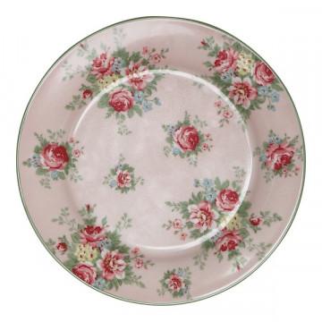 Plato de cerámica 20 cm Aurelia Pale Pink Green Gate