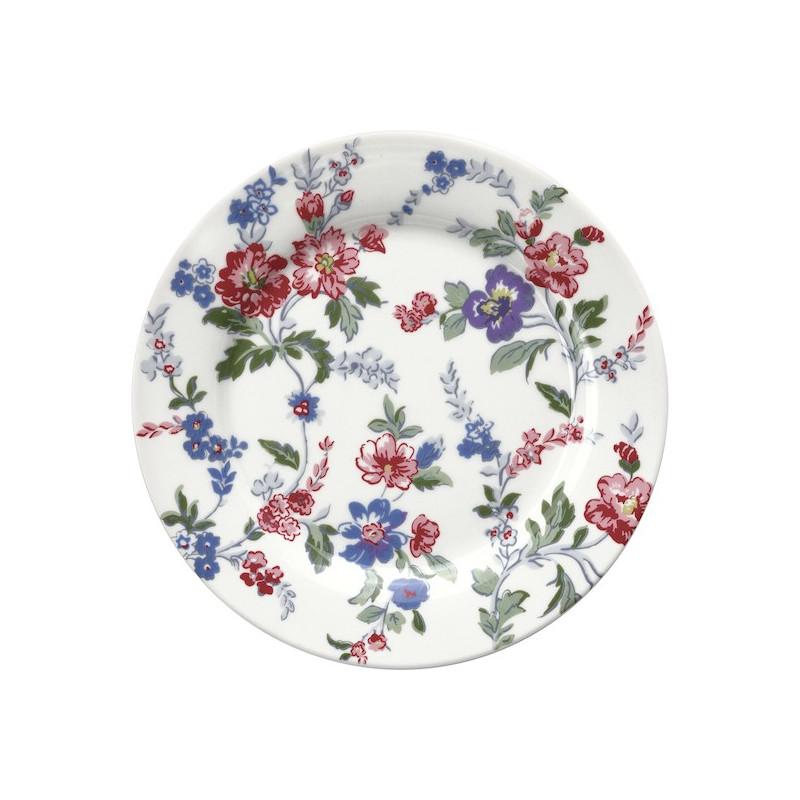 Plato de cerámica 20 cm Isobel White Green Gate