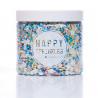Sprinkles Azul, Blanco, Rosa, Plata,Verde y Amarillo  Cosmic Galaxy 90 gr Happy Sprinkles