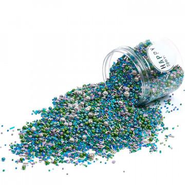 Sprinkles Azul, Verde y Plata Mermaid´s Secret 90 gr Happy Sprinkles