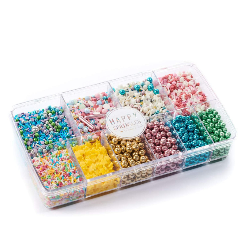 Caja de Sprinkles Mix 300 gr Color Explosion Happy Sprinkles