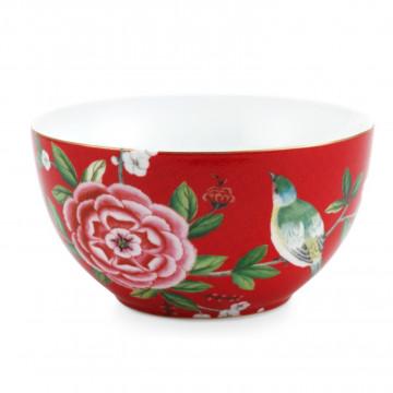 Bol de cerámica 15 cm Rojo Blushing Birds Pip Studio
