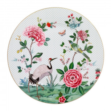 Plato de cerámica 31 cm Blanco Blushing Birds Pip Studio