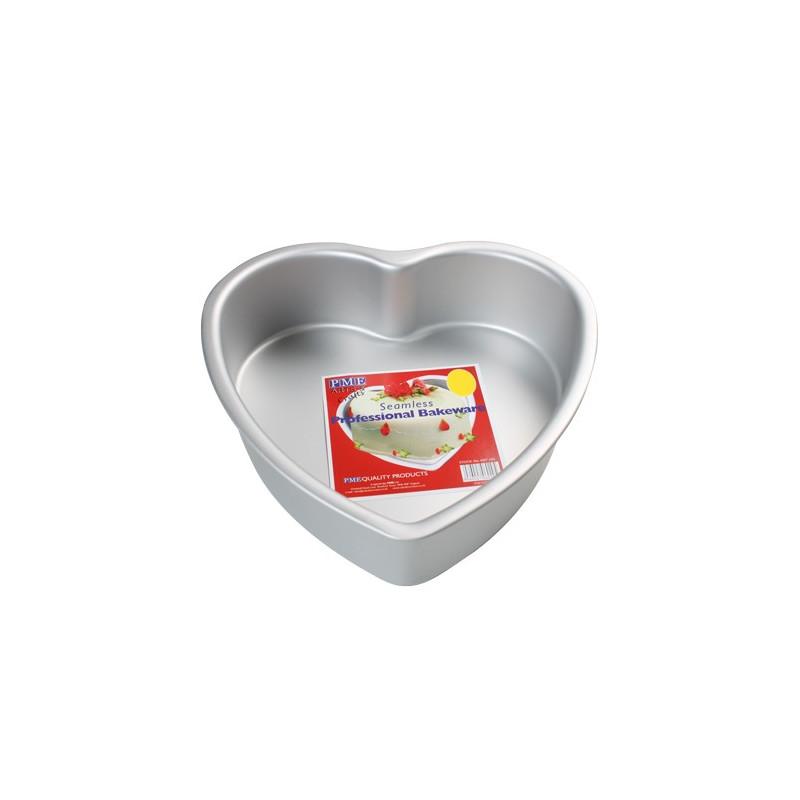 Molde corazón 15 x 7.5 cm PME