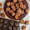 Molde 12 cavidades mini bundt cake Leaflettes Cakelet Nordic Ware
