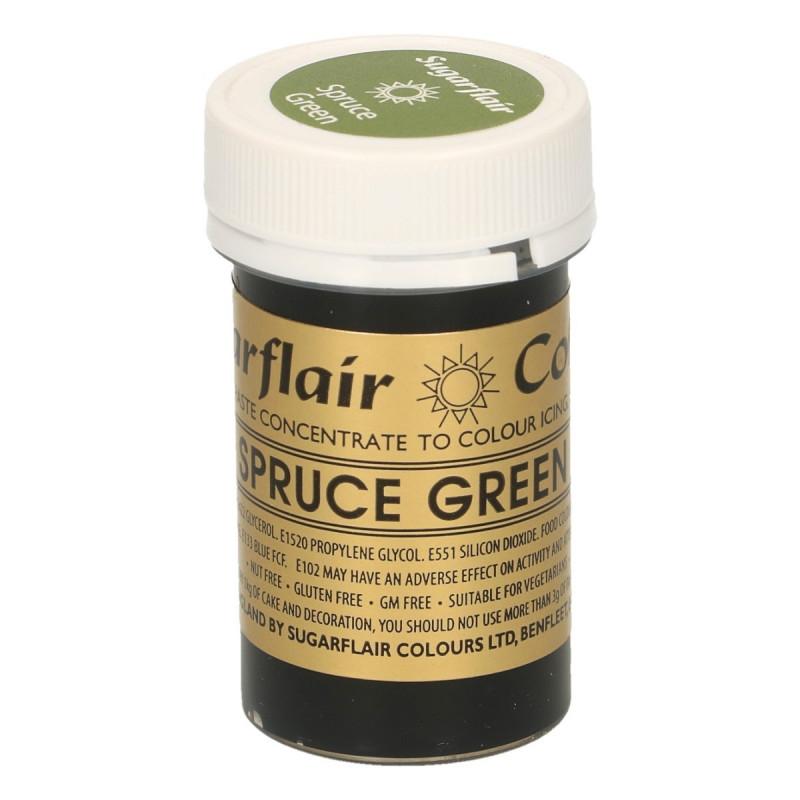 Colorante en pasta Spruce Green Sugarflair