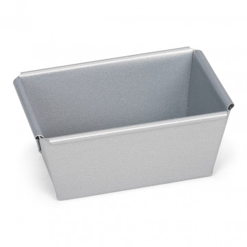 Molde rectangular de Plum Cake 9 cm Silver Patisse