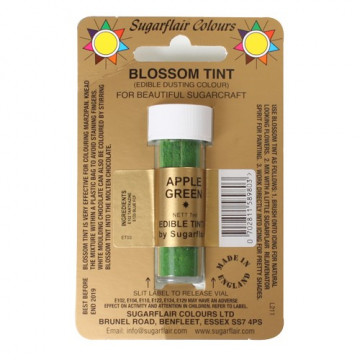 Colorante en polvo Apple Green Blossom Sugarflair